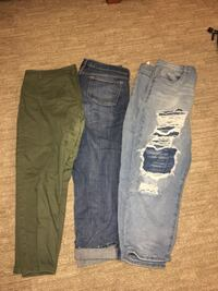 two blue and gray denim jeans Central Okanagan, V1X 7T7