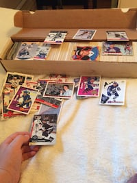 A bunch of hockey and baseball cards North Vancouver, V7L 2L5
