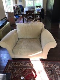 Chair, Love Seat and Ottoman