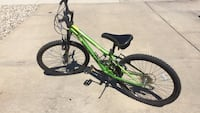 green and black full-suspension bike Chestermere, T1X