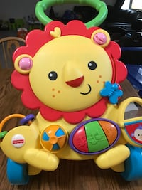 Fisher-Price lion activity walker