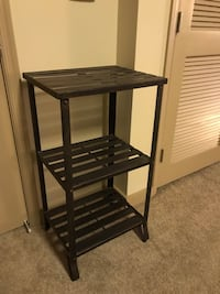 Iron side table, bronze finish  Arlington, 22204