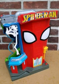 ☆SPIDERMAN TOY STRUCTURE!!☆