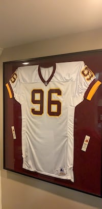 Glass Framed Redskins Jersey Chevy Chase View, 20895