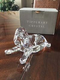 Tipperary Crystal Dog figurine Coquitlam, V3B 6X6