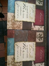 three assorted color of quote wall decors North Las Vegas, 89030