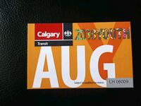 Youth bus pass... pick up only  Calgary, T2N 1W9