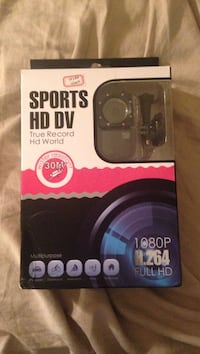 Sports hd dv action camera pack BLACK