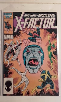 X-FACTOR #6 FIRST APPEARANCE OF APOCALYPSE . TORONTO
