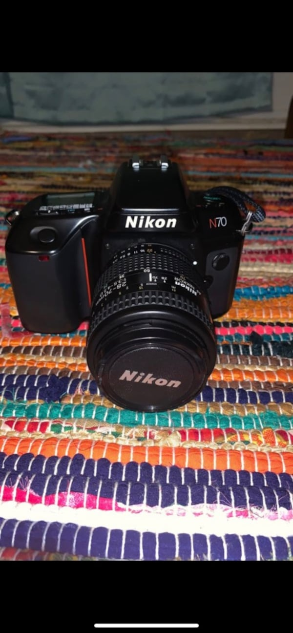 Nikon N70 SLR Film Camera body and lens included 445d3b53-a539-4179-a6b8-be7dfe94a859