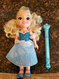 Cinderella Doll and Wand 39 km