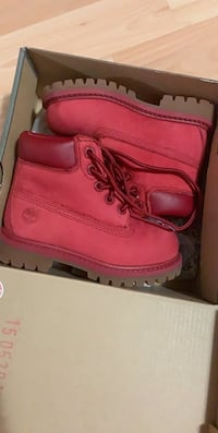 Brand new baby timberland boots- Size 6 Brampton, L6S 6L3