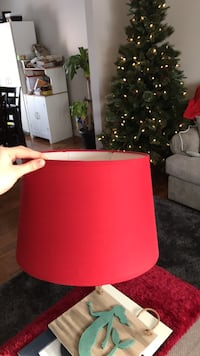Red lamp shade London, N6K 2W4