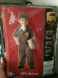 Toddlers UPS Halloween costume Las Vegas, 89121