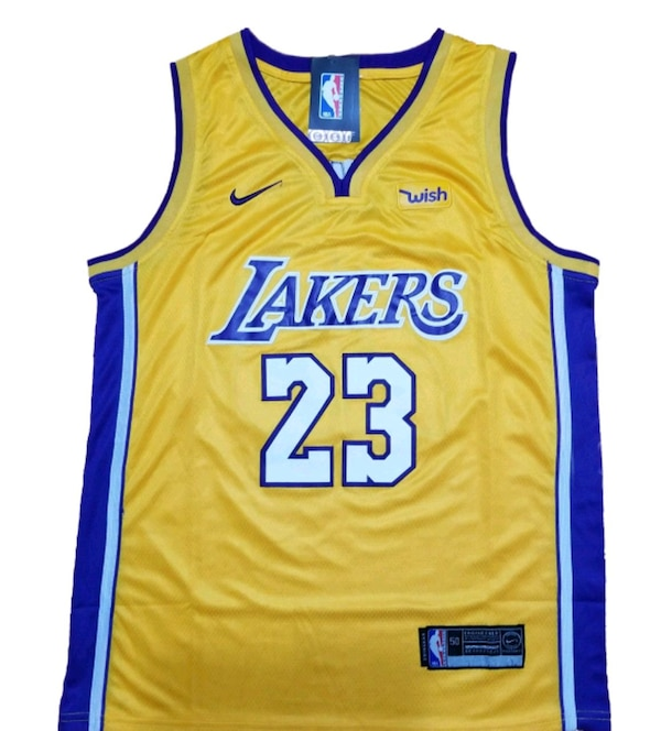 hot sale online 96d0f 17af0 LEBRON JAMES # 23 Los Angeles Lakers Jersey