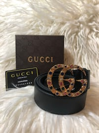 Black and brown gucci belt with box Santa Ana, 92704
