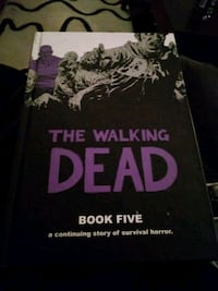 Walking dead hard cover book 5