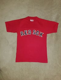 red Boston Red Sox crew-neck t-shirt