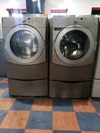 KITCHEN AID FRONT LOAD WASHER AND GAS DRYER SET  San Marcos, 92078