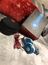 Beats blue new in box
