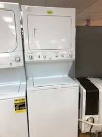 "Kenmore white stacked washer and dryer unit 27"" Woodbridge, 22191"