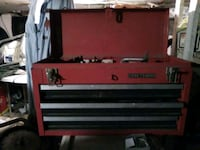 red and black Craftsman tool chest Perth Amboy, 08861