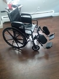 Drive 20 inch Medical Silver Sport 2 WheelChair.  null
