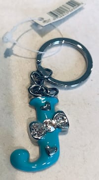 Tiffany color key ring