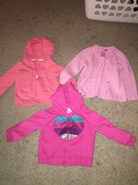Size 24 months/2T hoodies, set of 3 Leesport, 19533