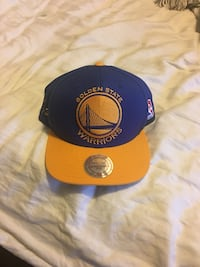 black and yellow Golden State Warriors cap Mississauga, L5V 1M9