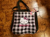 black and white Hello Kitty tote bag Montréal, H1E 1R4