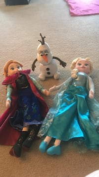 Disney Frozen Elsa, Anna, Olaf Bundle for all 4 Hyattsville, 20782