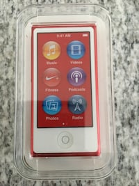 Red ipod nano 7th gen Vaughan, L4H
