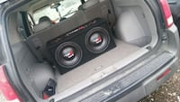 black and red subwoofer speaker Toledo