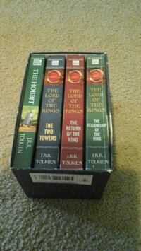 All four lord of the rings books Parkersburg, 26101