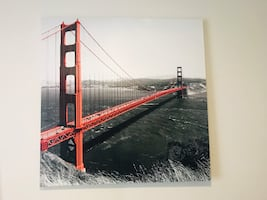 San Francisco bridge painting