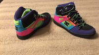 pair of black-and-pink Nike basketball shoes Hickory, 28602