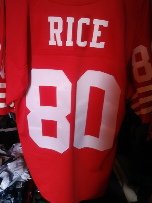 fd581df9e19 Used Jerry rice 9er throwback M for sale in South San Francisco - letgo