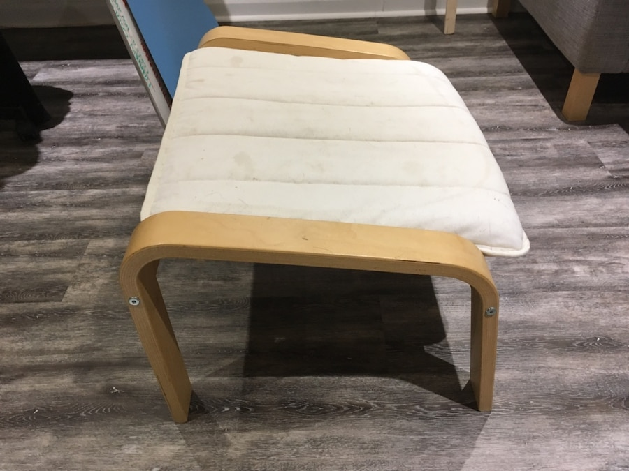 IKEA Poang chair and foot rest  - Quebec