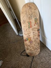 Custom wood burn skate board deck East Stroudsburg, 18301