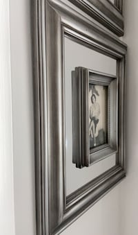 SILVER MIRROR PICTURE FRAME NEW