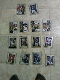 7 select football cards,5 spx cards and 3 primz Georgetown, 40324