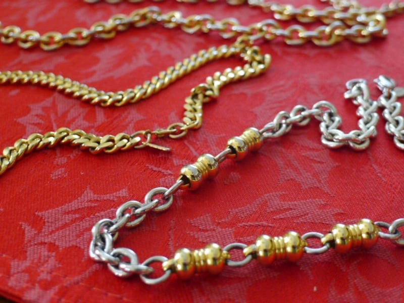 3 Gold Tone Choker Necklaces - $10 each 59dfaaaa-f32c-4cee-be79-b6462ce07a15