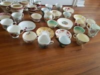 assorted-color ceramic tea cup lot Laval, H7N 1R4
