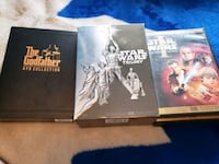 God Father and Star Wars box set's. Pp1 OP 0ppp000 Barrie, L4M