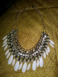 silver-colored beaded necklace Santa Rosa