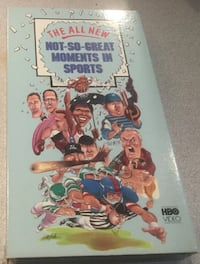 The All New Not-So-Breat Moments in Sports VHS TAPE