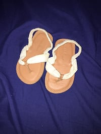 0-3 months baby girl sandals  Stockton, 95204
