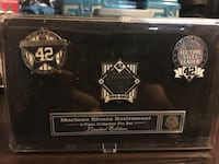 Mariano retirement pins limited edition Bloomfield, 07003