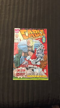 Marvel Comics Cable Blood and Metal 1992 Part 2 Toronto, M9M